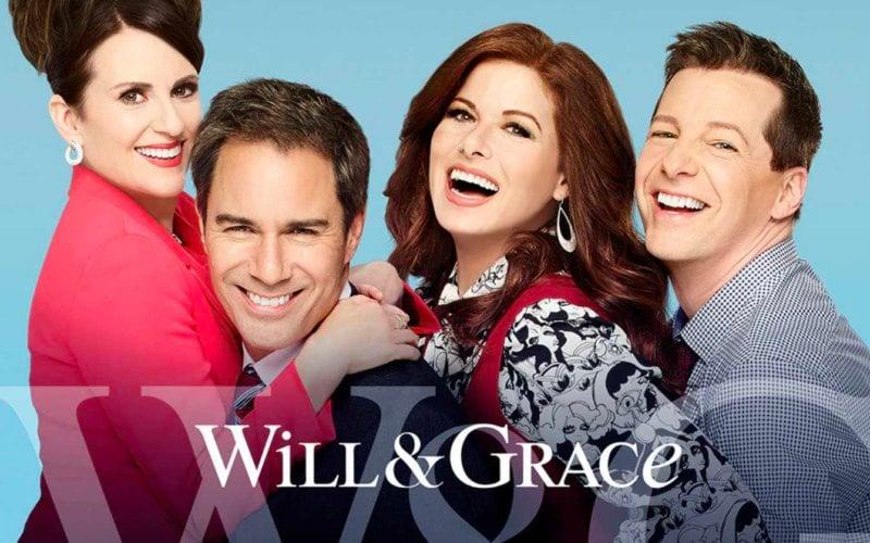 will e grace torna italia joy