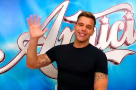 Amici 18 Ricky Martin