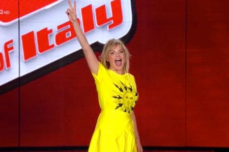 Simona Ventura The Voice Of Italy Rai Due