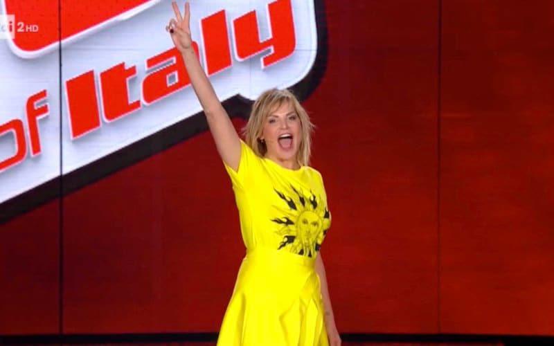 Simona Ventura The Voice Of Italy Rai Due