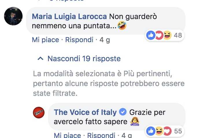 the voice gay maria luigi larocca amici