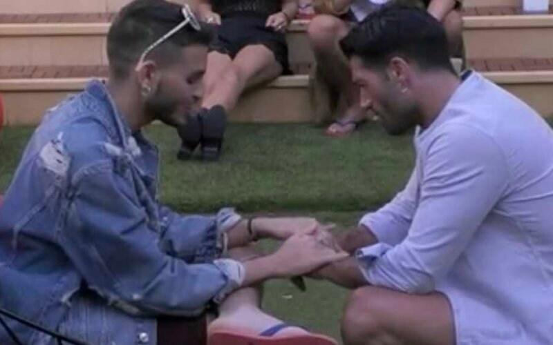 trono gay omosessuali grande fratello cristian michael