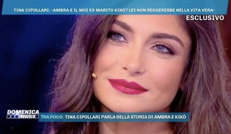 Ambra Lombardo Domenica Live