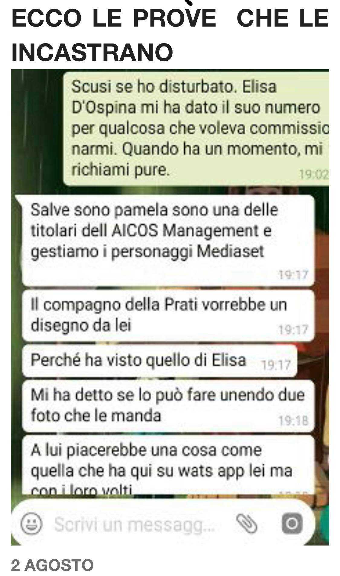 Chat WhatsApp Mark Caltagirone