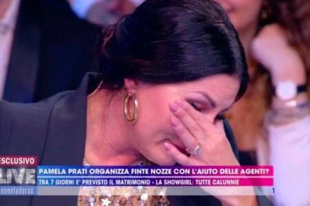 Eliana Michelazzo Piange Live Non è la d'Urso