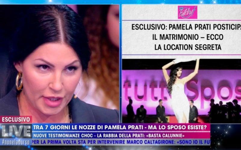Pamela Prati BitchyF Live Non è la d'Urso