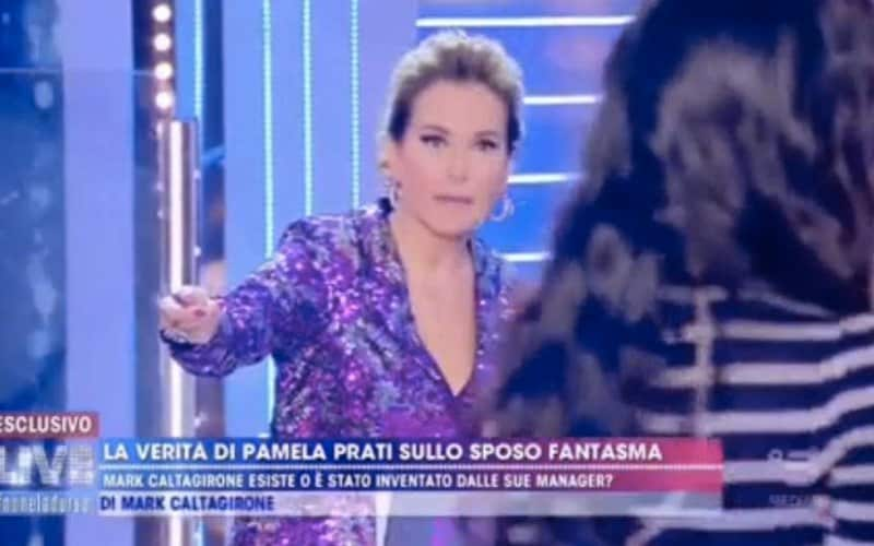Pamela Prati Live Non è la d'Urso