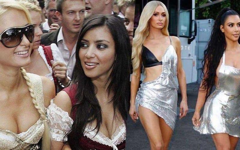 Paris Hilton Kim Kardashian 2009 2019