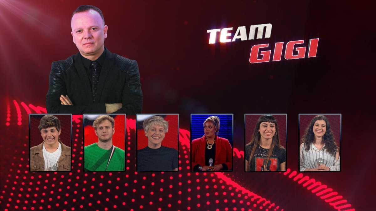 The Voice Team Gigi