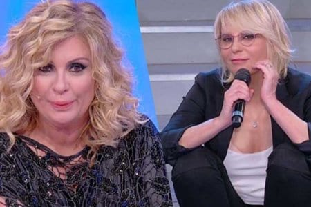 Tina Cipollari Maria De Filippi