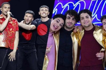 ascolti tv amici eurovision song contest