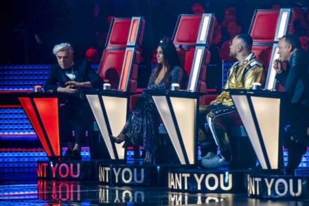 ascolti tv the voice of italy