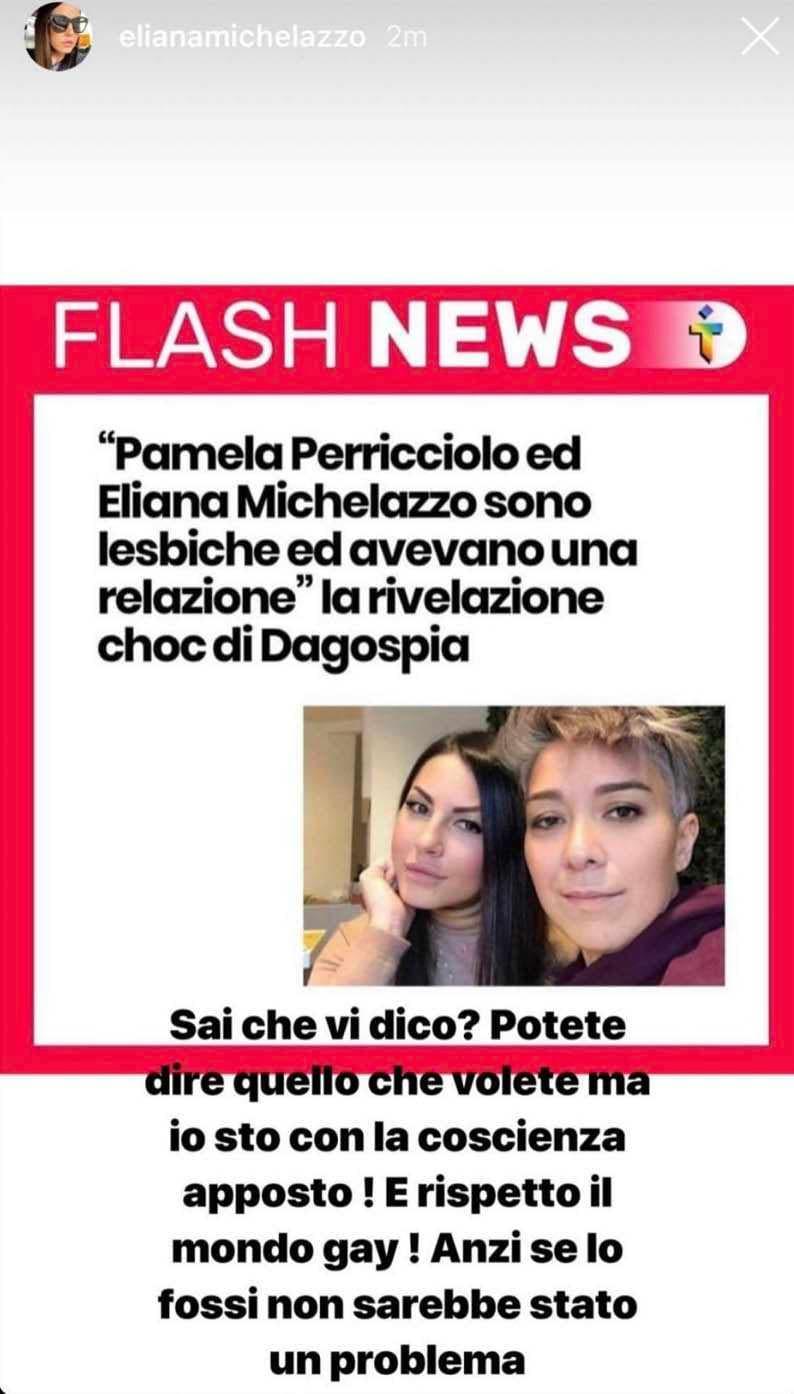 eliana michelazzo pamela perricciolo lesbiche gay