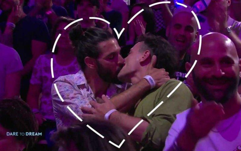 eurovision gay kiss cam