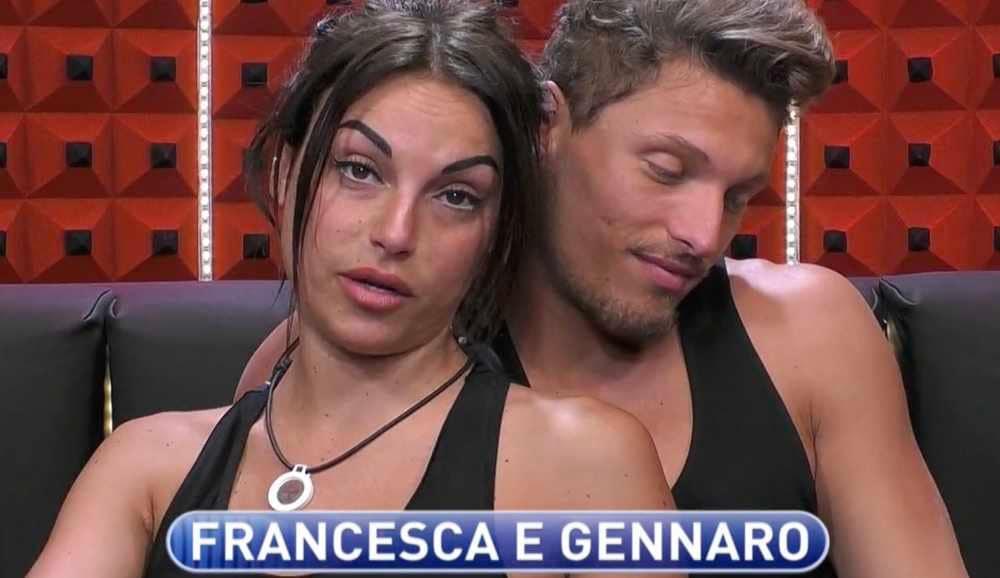 francesca de andre gennaro lillio giorgio gf 16