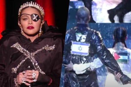 madonna israele eurovision ballerina palestina