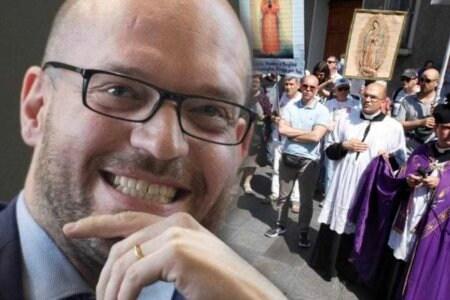 ministro lorenzo fontana processione di riparazione gay pride
