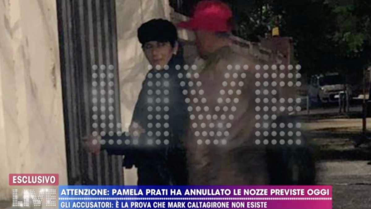Pamela Prati pubblica un video di Mark Caltagirone