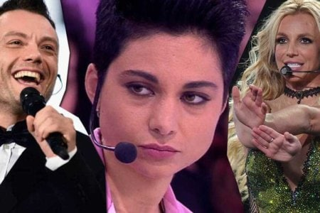 Giordana Angi Tiziano Ferro Britney Spears