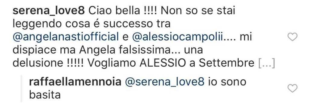 Raffaella Mennoia Angela Nasti