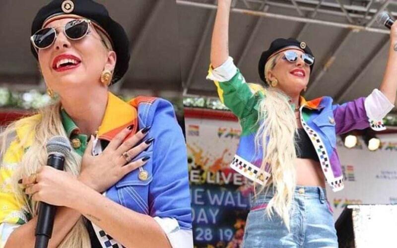lady gaga gay lgbt pride nyc new york