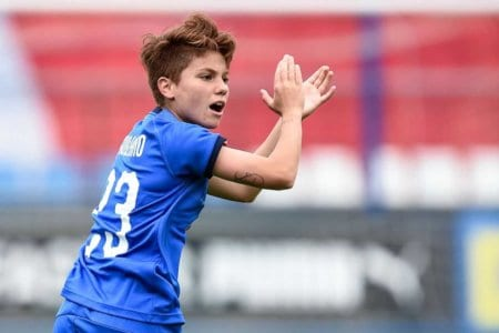 Manuela Giugliano Reggio Emilia 29-5-2019  Womens Football Friendly Match  Italy - Switzerland  Photo Daniele Buffa / Image Sport /Insidefoto