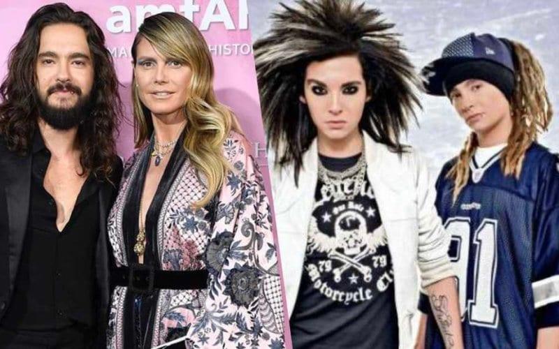 Heidi Klum Tom Kaulitz Tokio Hotel