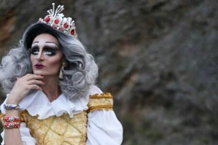 Lalique Chouette drag queen torre del lago bitchy pride