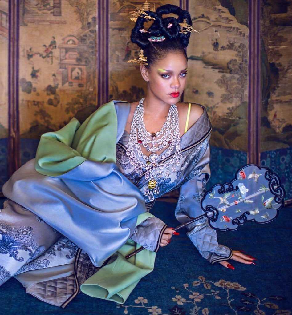 Rihanna Harper Bazaar China Cultural Appropriation 3