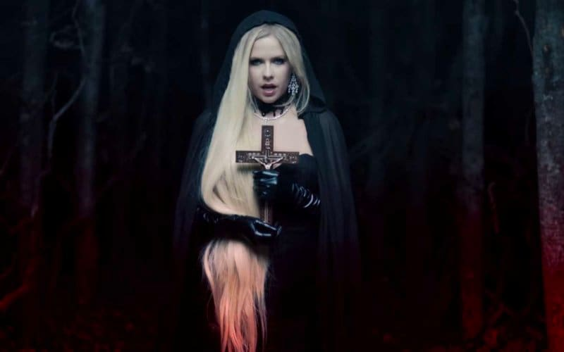avril lavigne devil satan video