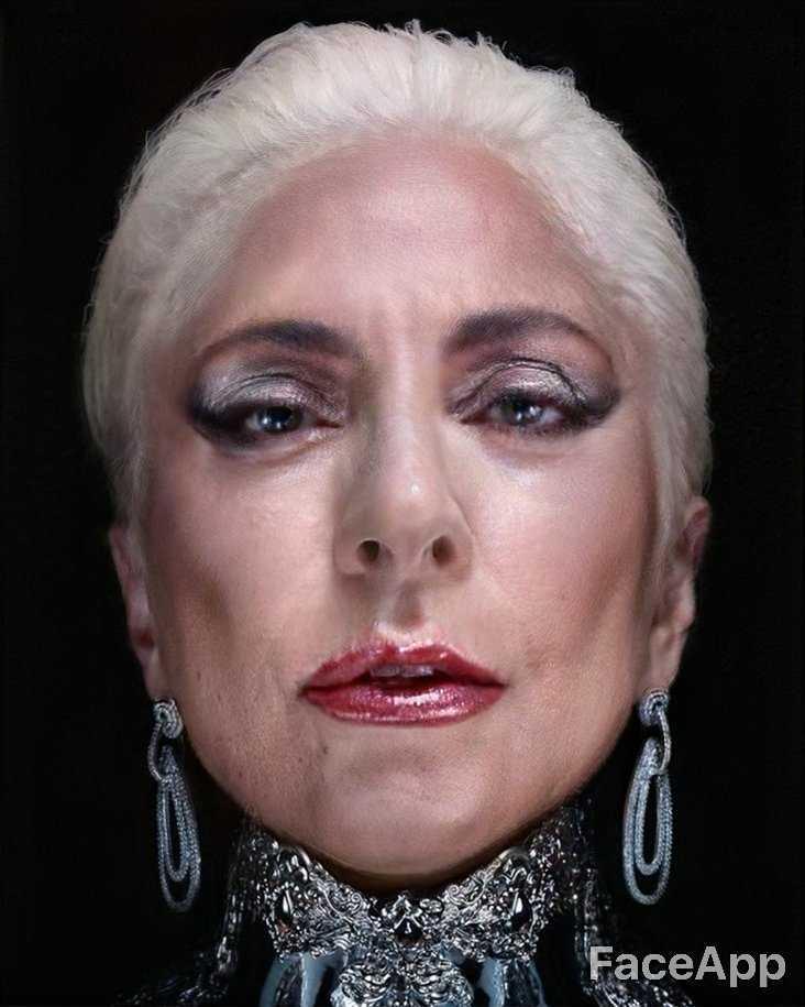 lady gaga faceapp