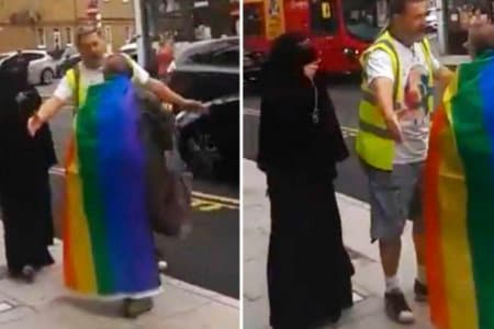 niqab gay lgbt london omofobia