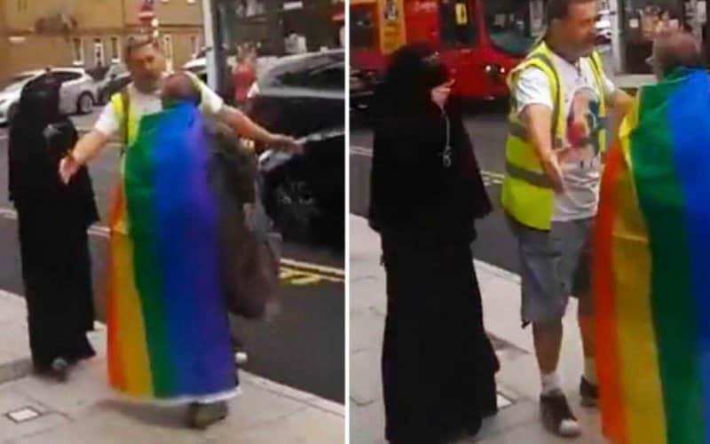 niqab gay lgbt london omofobia