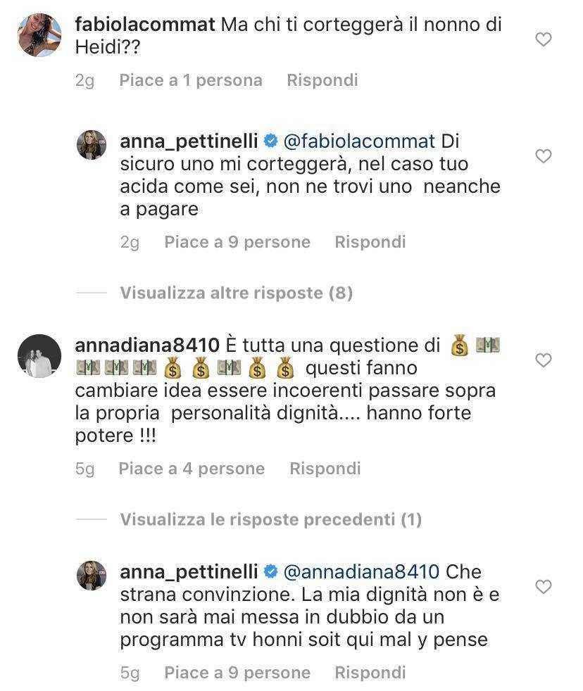 Anna Pettinelli Temptation island