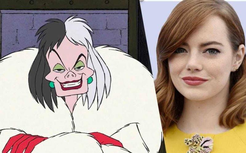 Emma Stone Crudelia Demon gay 101
