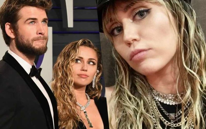 Liam Hemsworth Miley Cyrus love post social california