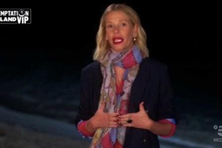 Alessia Marcuzzi Temptation Island Vip Ascolti tv