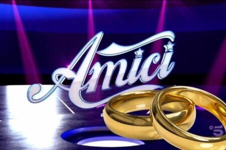 Amici matrimonio sposi sposa sposata sposati Agata Reale