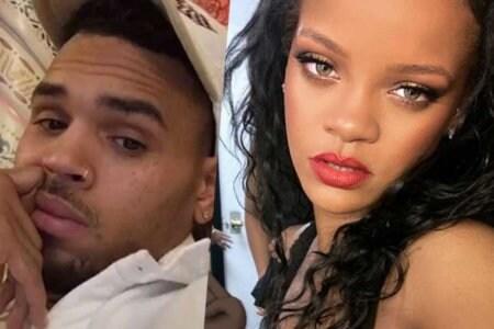 Chris Brown Rihanna pics omg comments