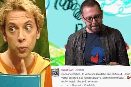 Danilo bErtazzi Tonio Cartonio gay commenti belli
