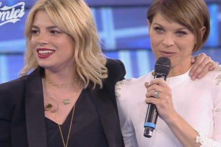 Emma Marrone Alessandra Amoroso Amici Celebrities