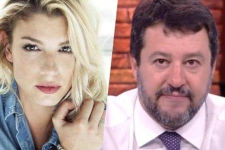 Emma Marrone Matteo Salvini fan commenti