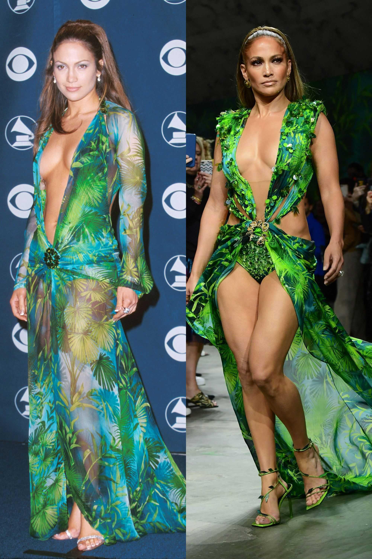 Jennifer Lopez Versace 2000