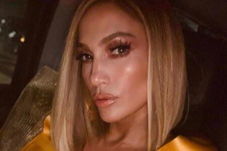 Jennifer Lopez fur bella pelliccia