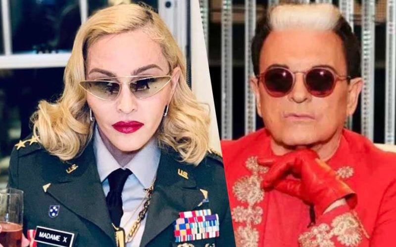 Madonna Dennis Rodman Cristiano malgioglio
