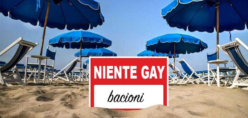 stabilimento balneare omofobo gay spiaggia