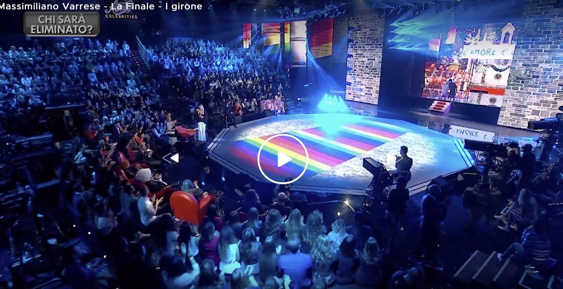 Amici Celebrities gay peparini omosessuali matrimoni
