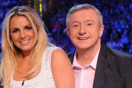 Britney Spears Louis Walsh X Factor