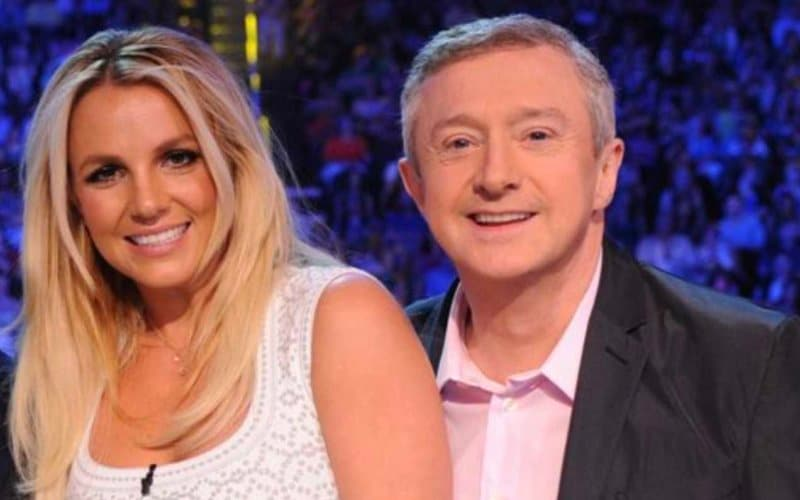 Britney Spears Louis Walsh X Factor