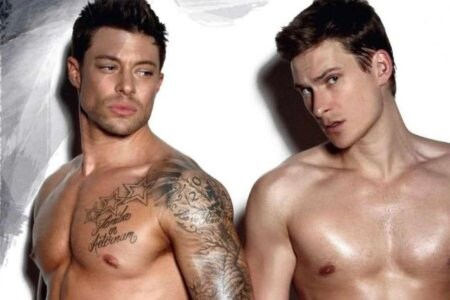 Duncan James Lee Ryan Blue gay